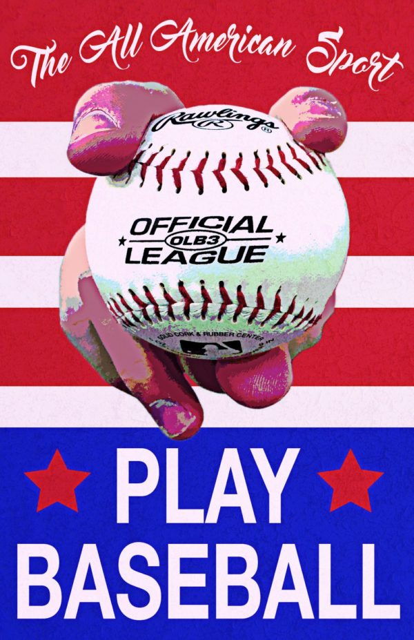 Play Baseball by Cora Mumme