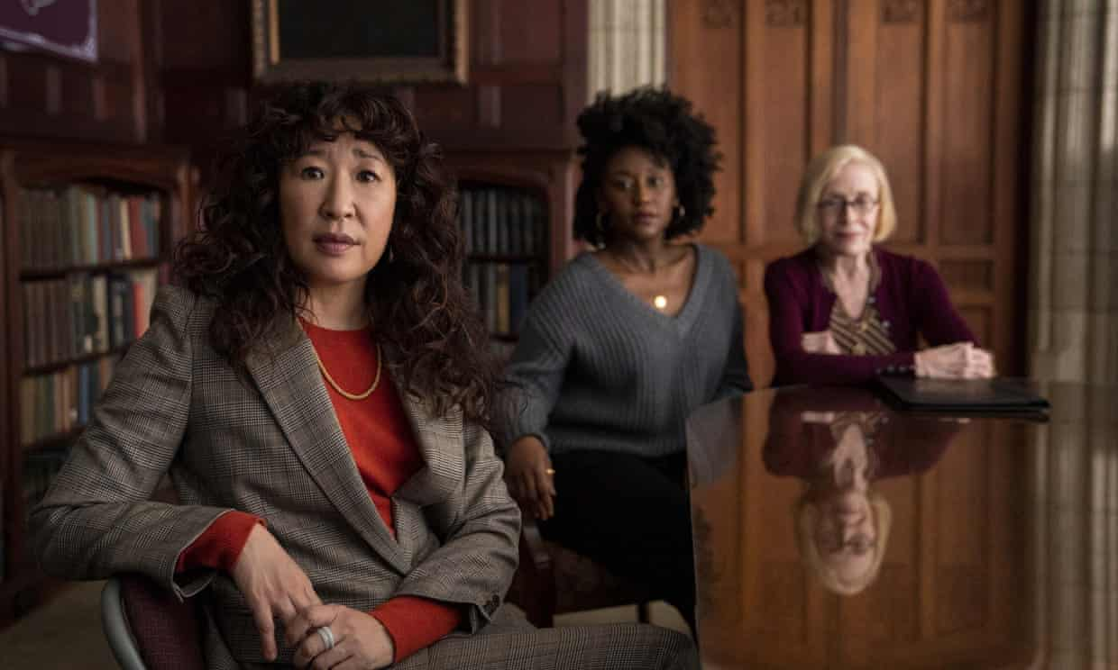 """Thinking on Paper: Where I Sit on Netflix's """"The Chair"""" by Libby Kassuelke"""